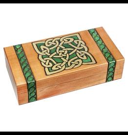 Enchanted Boxes Celtic Knot Wood Box