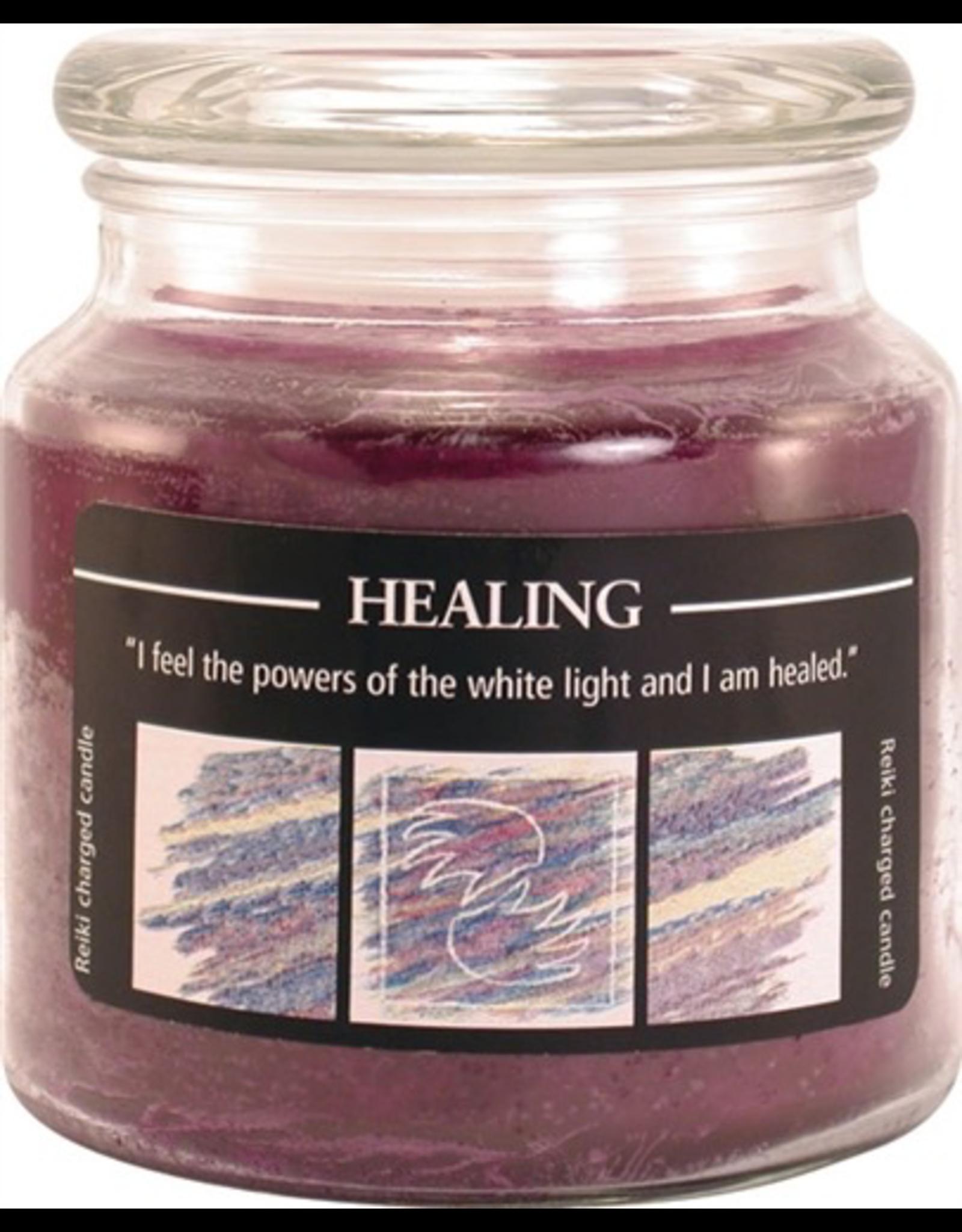 Crystal Journey 16 oz Healing Jar Candle