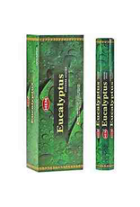 HEM 20 Gram Eucalyptus Hex Box Incense