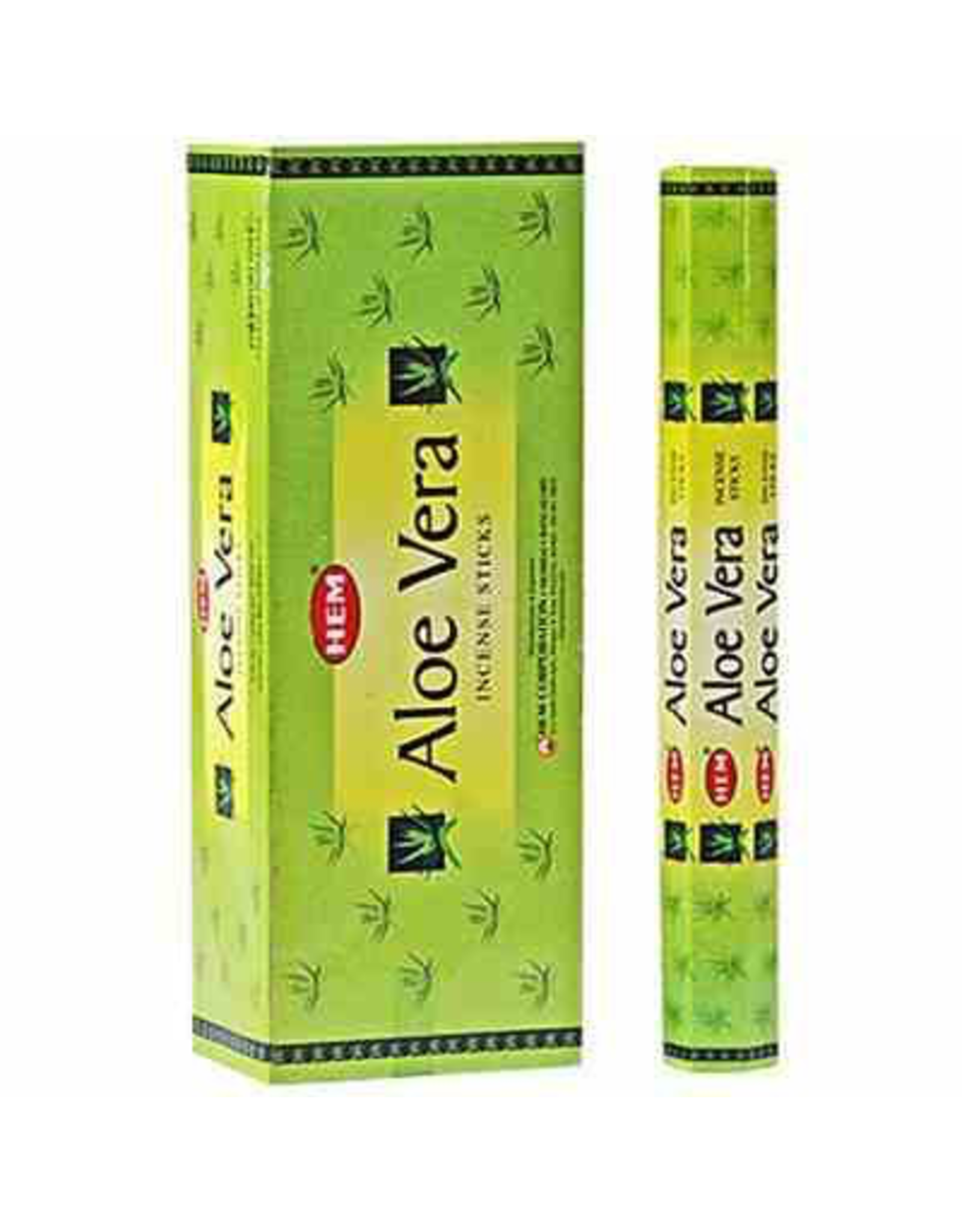 HEM 20 Gram Aloe Vera Hex Box Incense