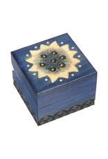 Enchanted Boxes Lotus Flower Small Wood Box