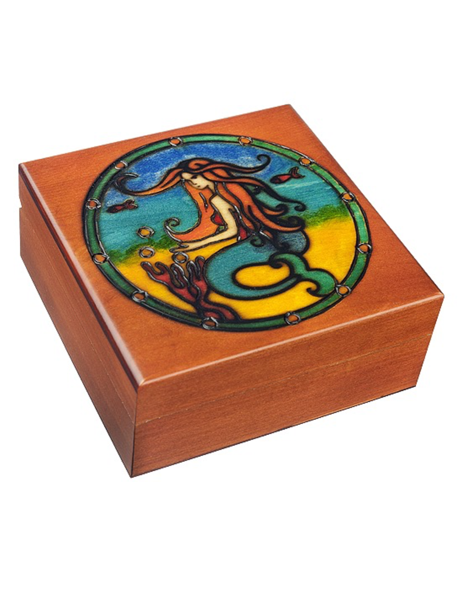 Enchanted Boxes Siren Wood Box