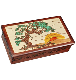 Enchanted Boxes Sunset Japanese Bonsai Wood Box