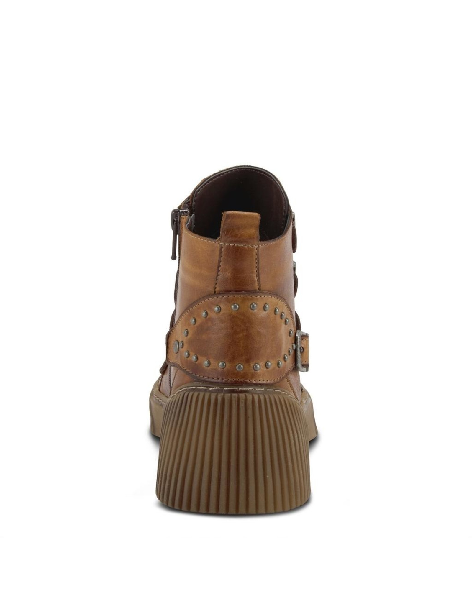 BeCool Camel Leather Boot