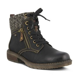 Khazera Faux Leather Bootie
