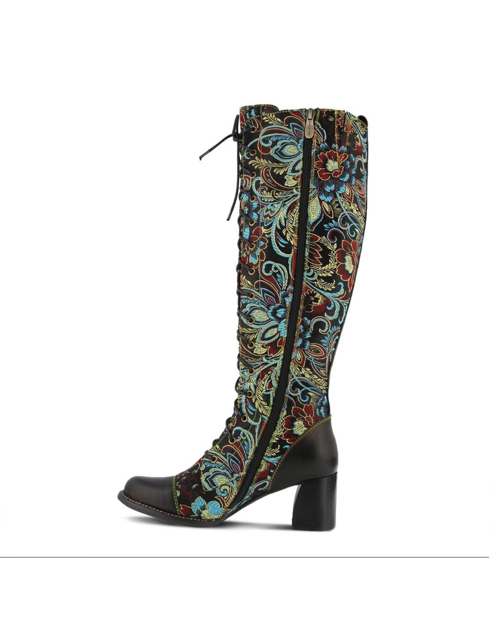 Rarity Floral Jacquard Tall Boot