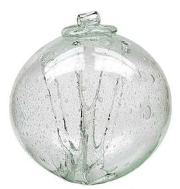 "6"" Olde English Witch Ball-Clear"