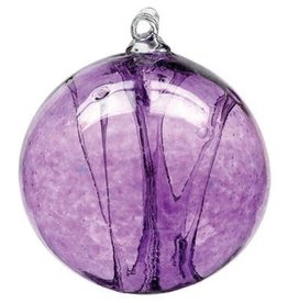 "6"" Olde English Witch Ball-Amethyst"