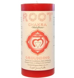 Crystal Journey Root Chakra Candle