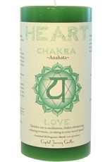 Crystal Journey Heart Chakra Candle