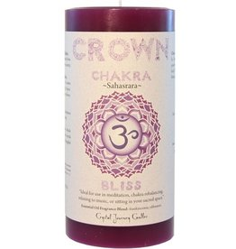 Crystal Journey Crown Chakra Candle