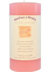 Crystal Journey Manifest a Miracle Candle