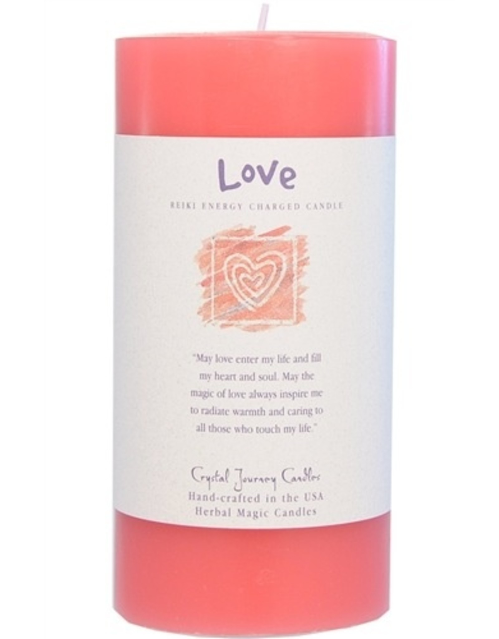 Crystal Journey Love Candle
