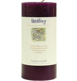 Crystal Journey Healing Candle