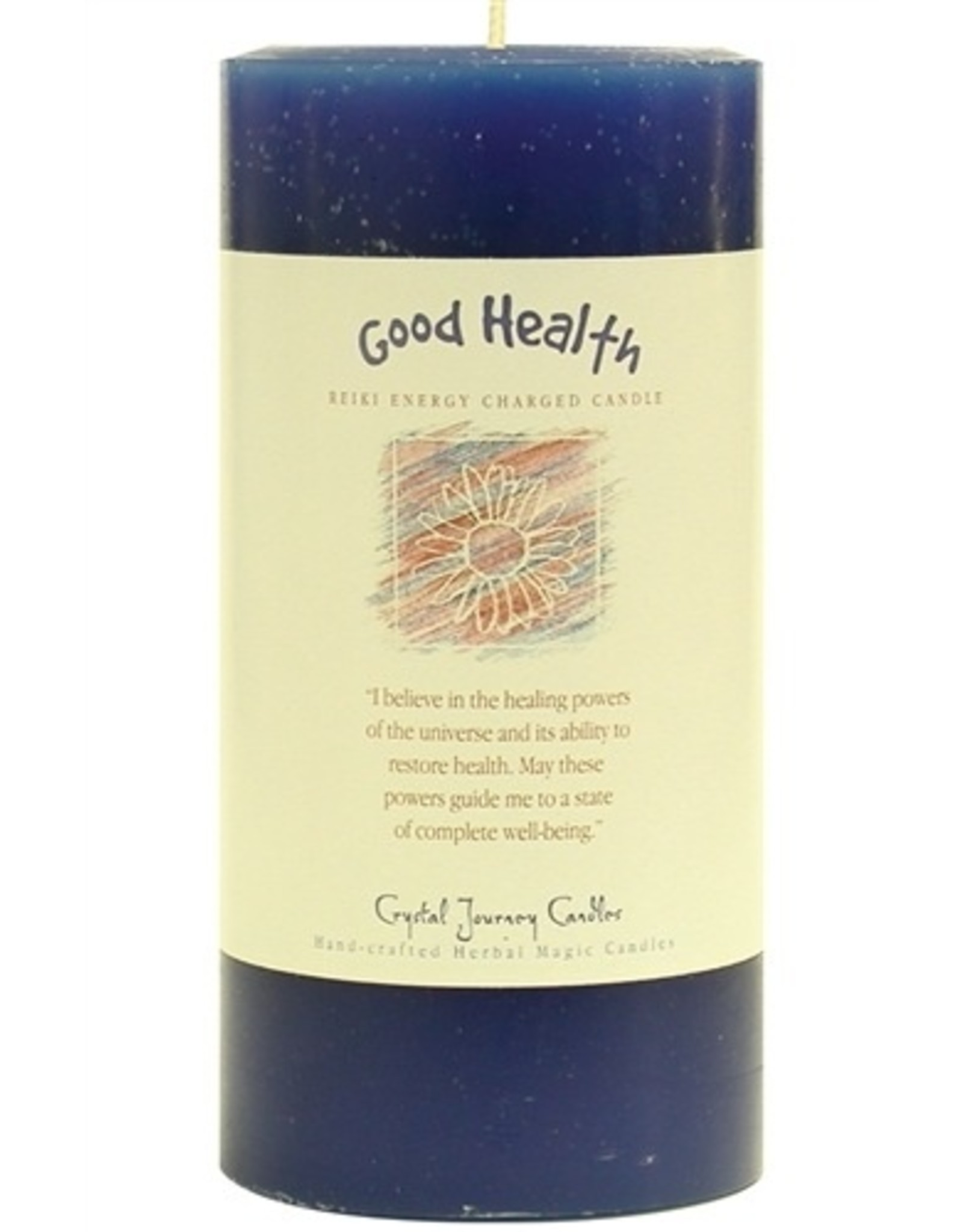 Crystal Journey Good Health Candle