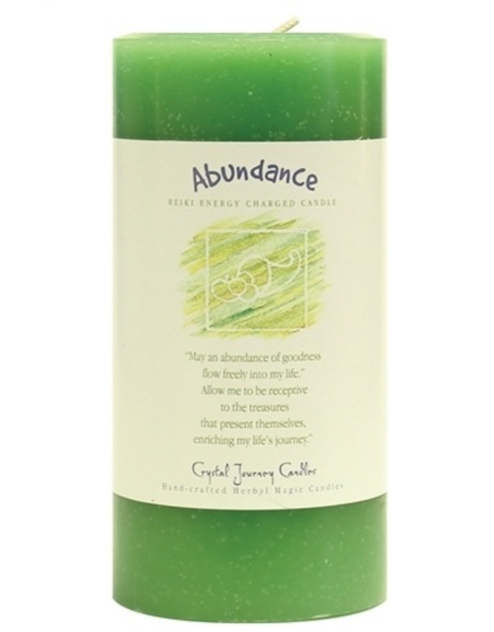 Crystal Journey Abundance Candle