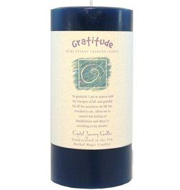 Crystal Journey Gratitude Candle