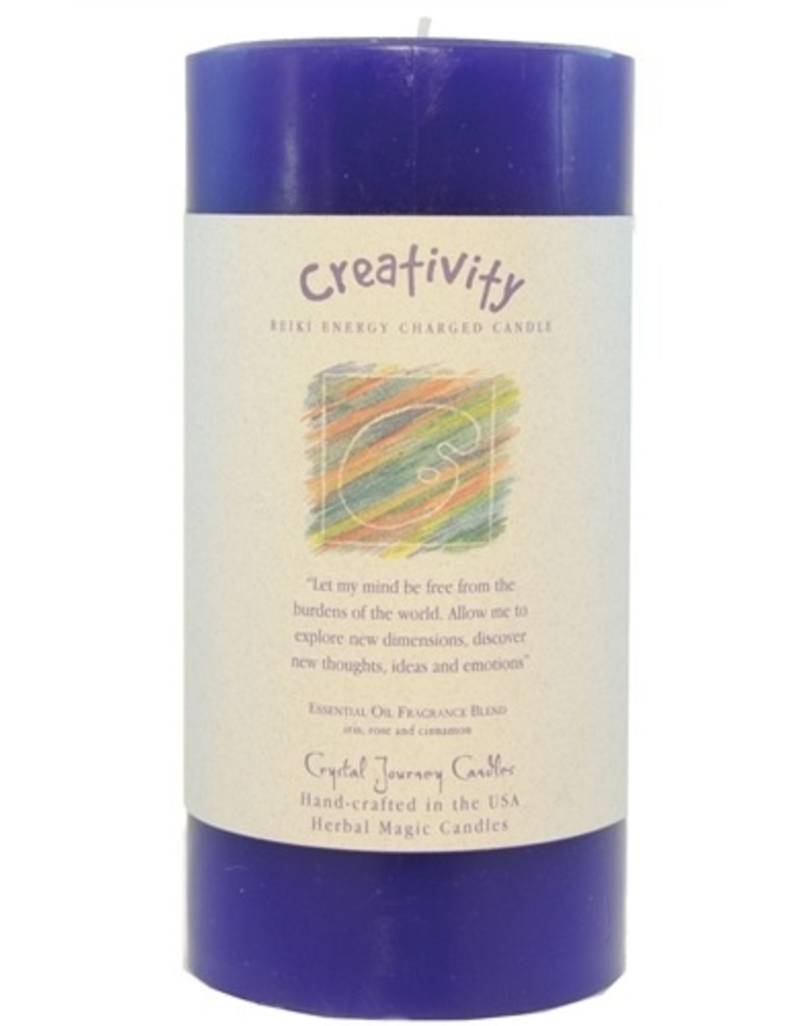 Crystal Journey Creativity Candle