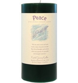 Crystal Journey Peace Candle
