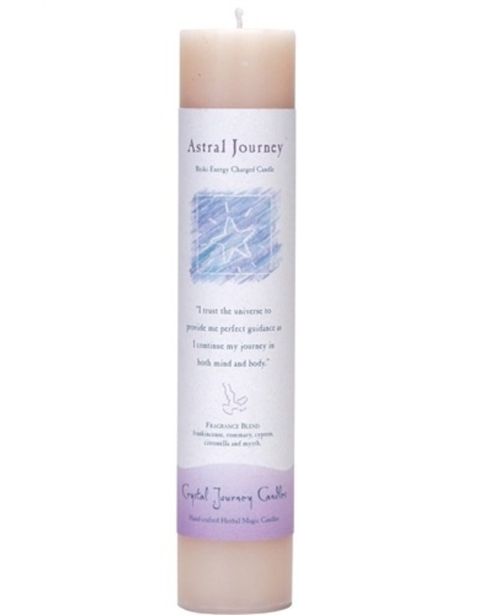 Crystal Journey Astral Journey Magic Pillar Candle