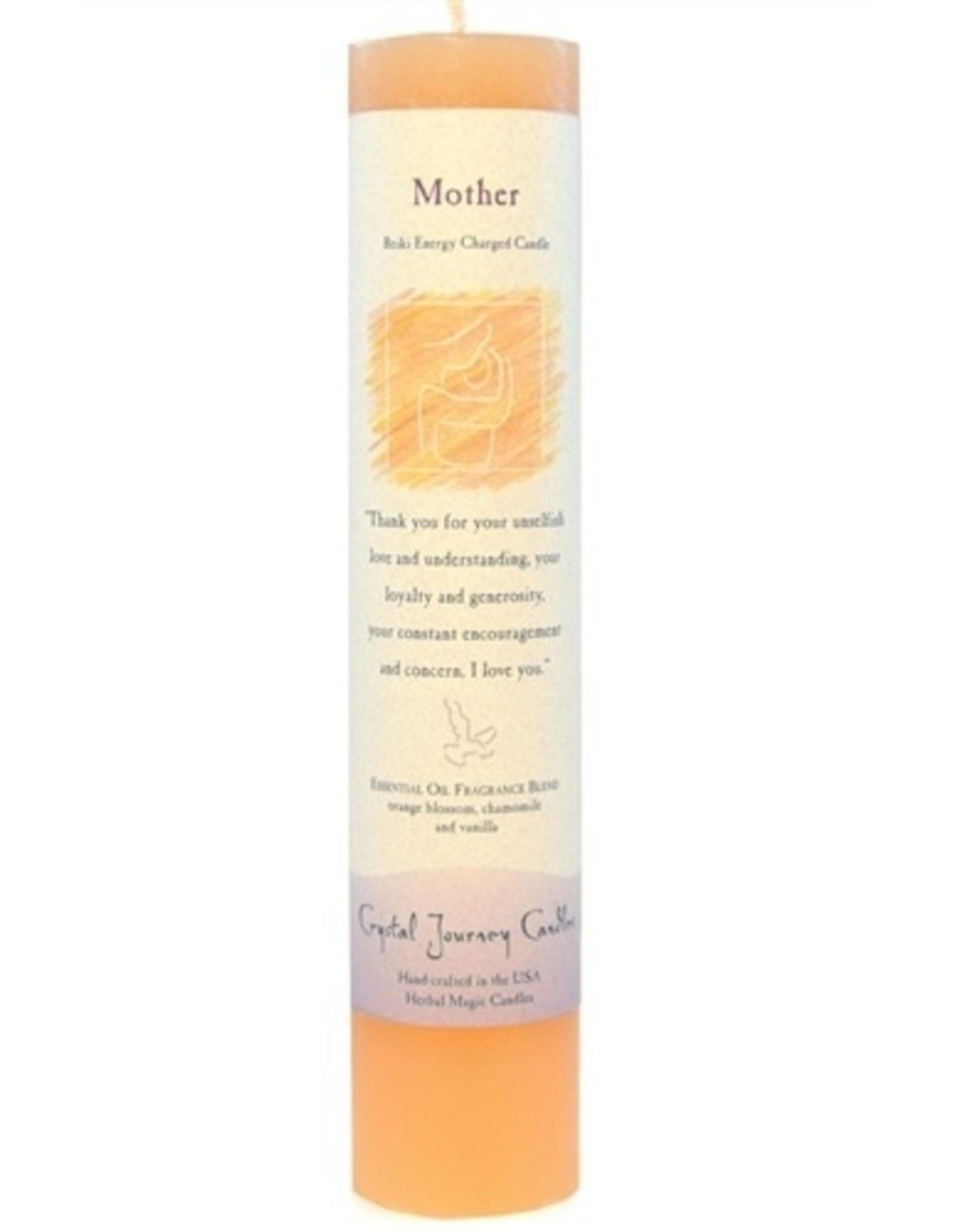Crystal Journey Mother Magic Pillar Candle