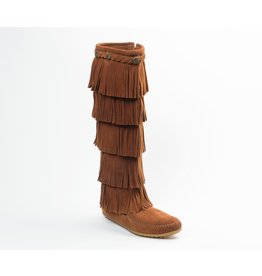 Minnetonka 5 Layer Fringe Boot