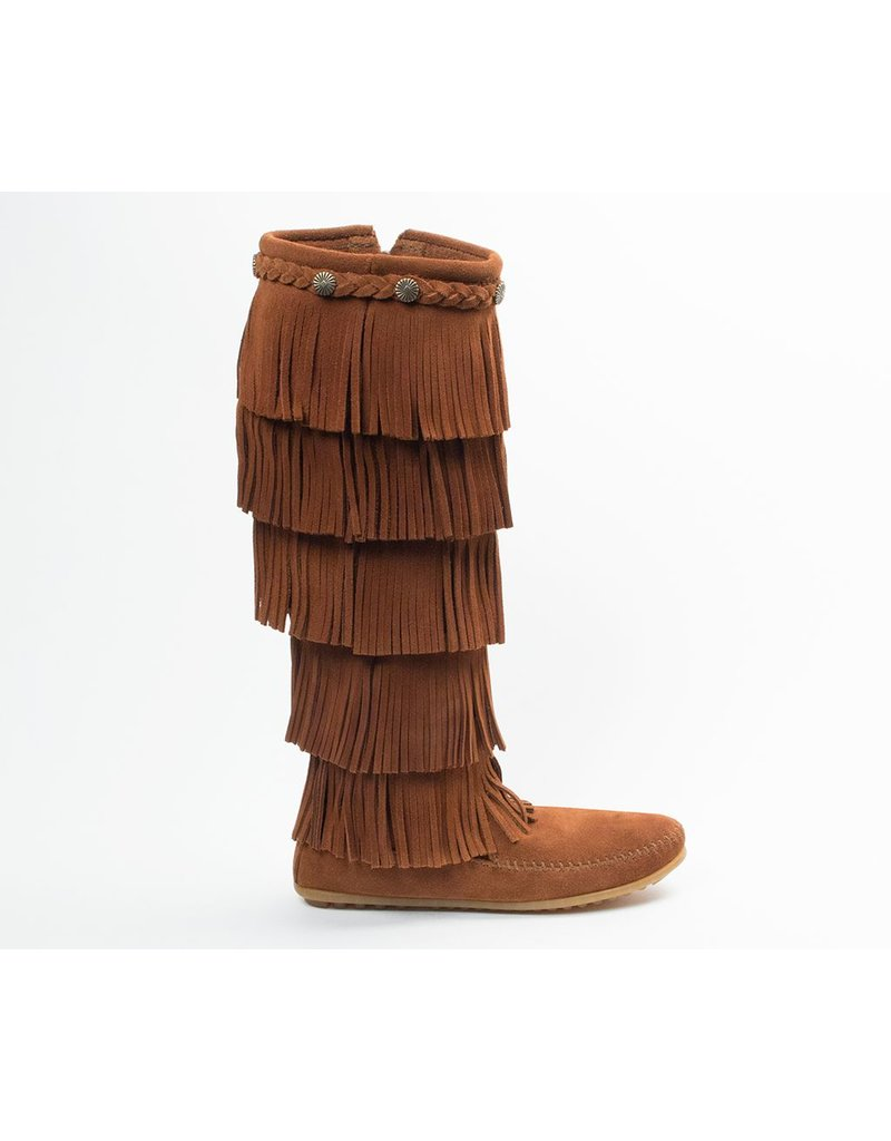 Minnetonka 5 Layer Fringe Boot