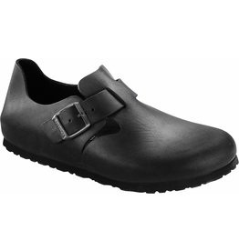Birkenstock London Black Oiled Leather Shoe