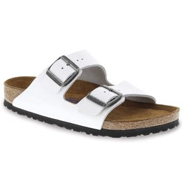 Birkenstock Arizona Soft Footbed Bright White Patent Leather
