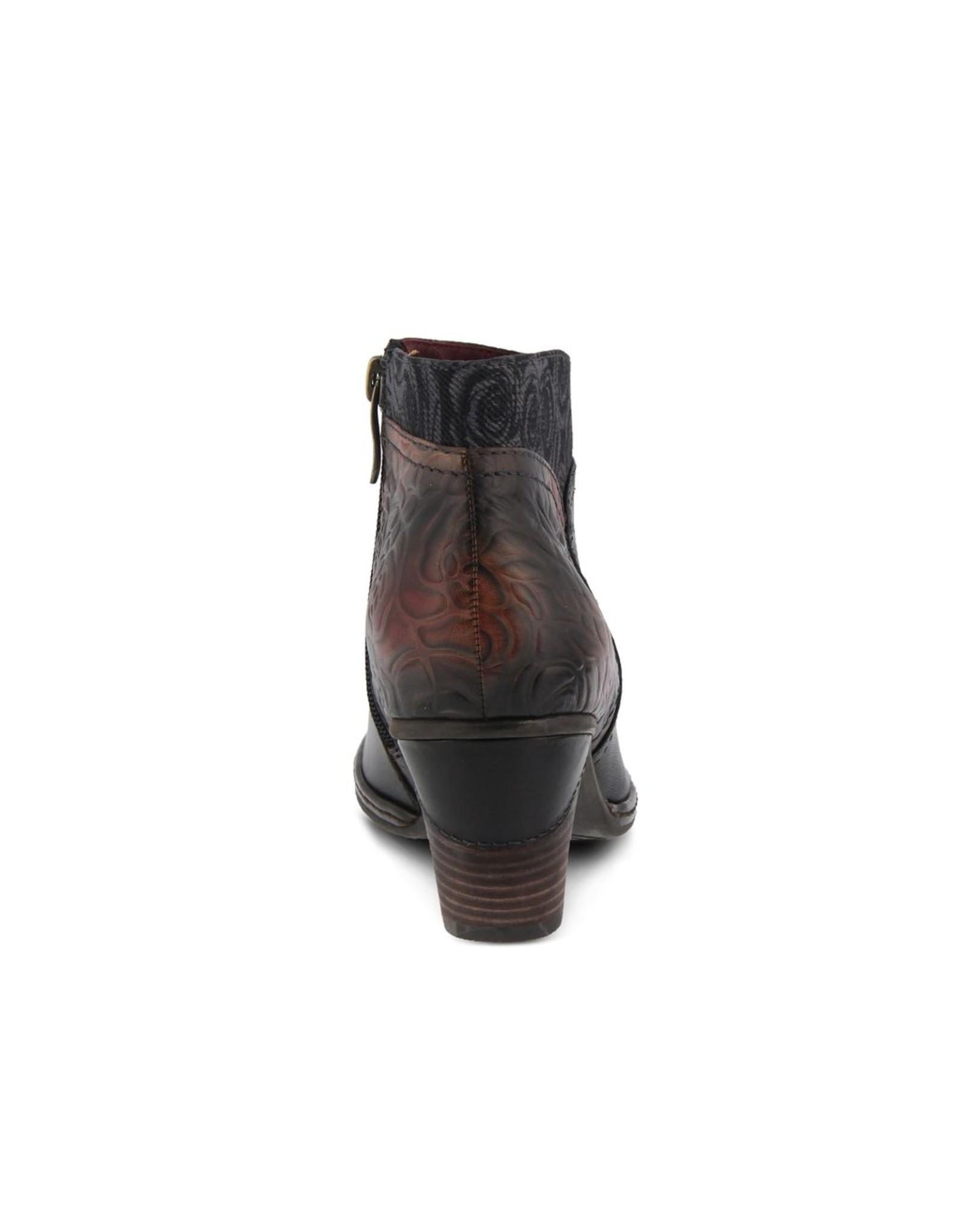 Esben Leather Bootie