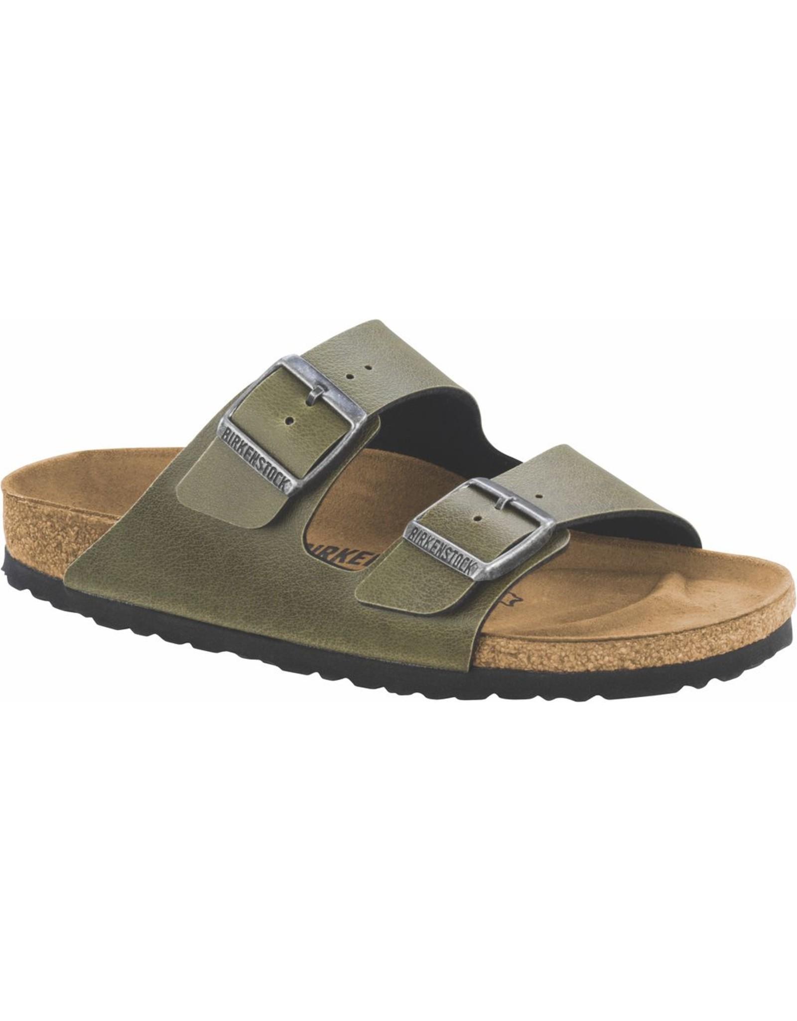 Birkenstock Arizona Olive BirkoFlor Sandal