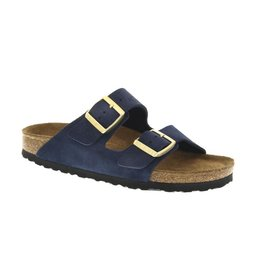 Birkenstock Arizona Soft Footbed Navy Suede Sandal