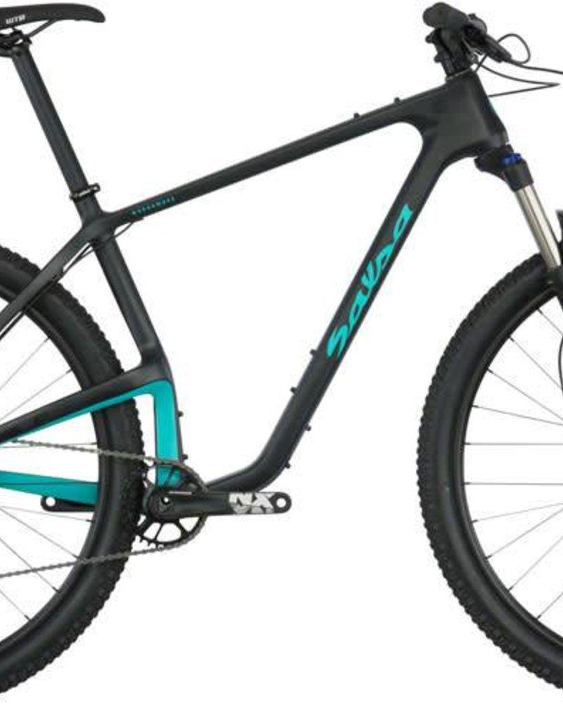 Salsa Salsa Woodsmoke NX1 29 Bike XL Black/Teal