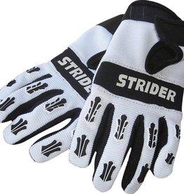 Strider Strider Adventure Riding Gloves: White/Black, 4K-XS