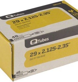 "QTubes Q-Tubes Value Series Tube with 48mm Presta Valve: 29"" x 2.125-2.35"