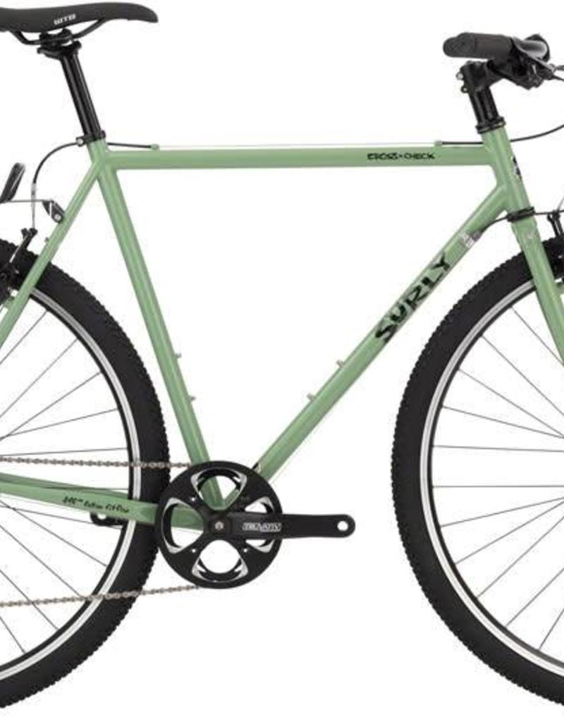 Surly Surly Cross Check Complete Bike Flat Bar 54cm Sage Green