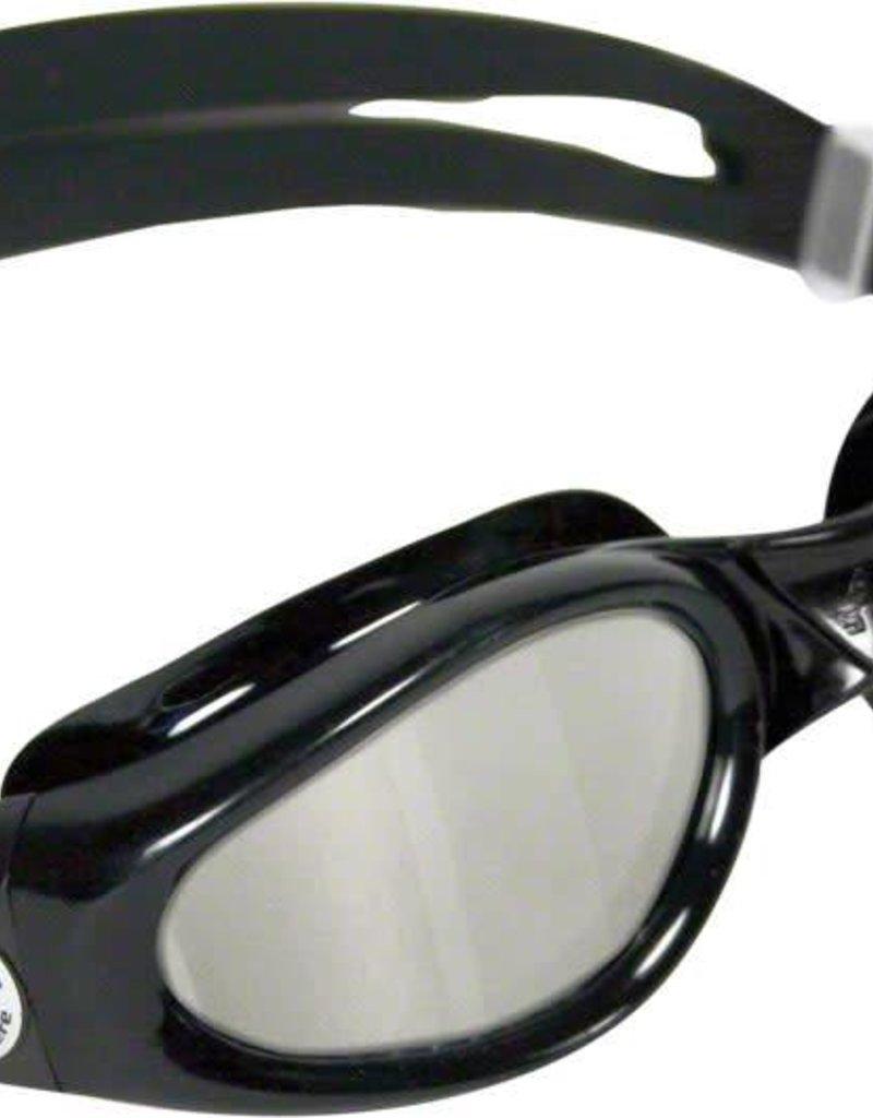 Aqua Sphere Aqua Sphere Kaiman Goggles: Black with Mirror Lens