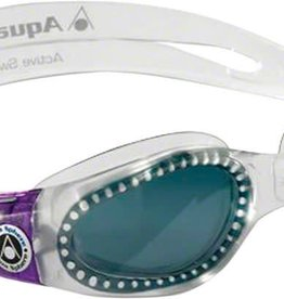 Aqua Sphere Aqua Sphere Kaiman Lady Goggles: Clear/Purple with Smoke Lens
