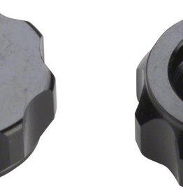 Problem Solvers Problem Solvers Super P-Nut Oversized Presta Valve Nut, Pair, Black