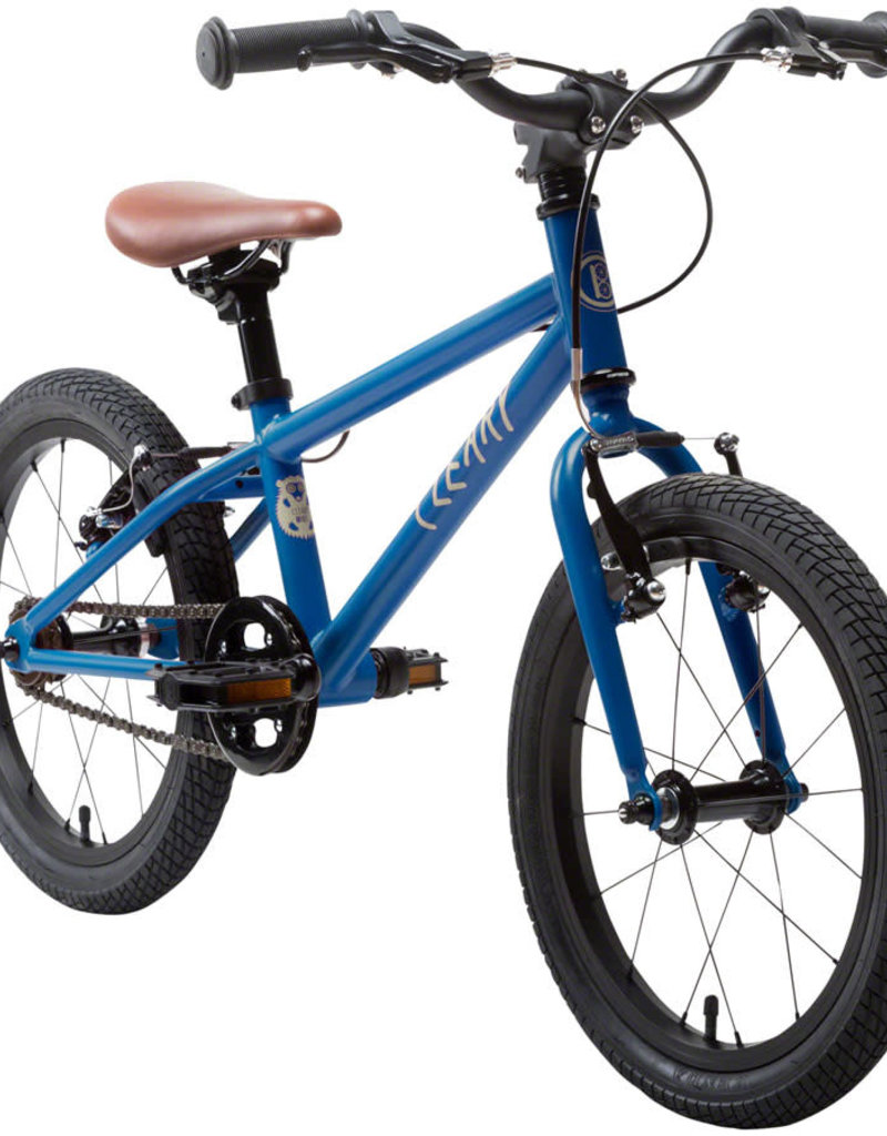 "Cleary Bikes Cleary Bikes Hedgehog 16"" Single Speed Complete Bike Deep Blue"