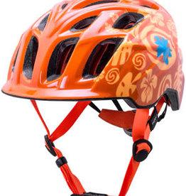 Kali Protectives Kali Chakra Child Helmet: Tropical Orange, One Size