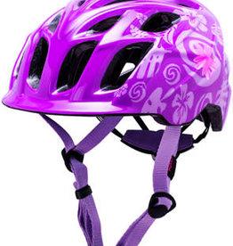 Kali Protectives Kali Chakra Child Helmet: Tropical Purple, One Size