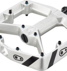"Crank Brothers Crank Brothers Stamp 3 Danny Macaskill Edition Pedals - Platform, Aluminum, 9/16"", Gray, Small"
