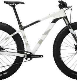 "Salsa Salsa Beargrease Carbon SX Eagle Fat Bike - 27.5"", Carbon, White, Medium"
