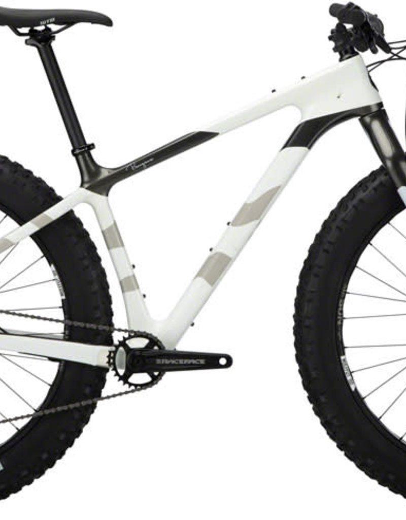 """Salsa Salsa Beargrease Carbon SX Eagle Fat Bike - 27.5"""", Carbon, White, Medium"""