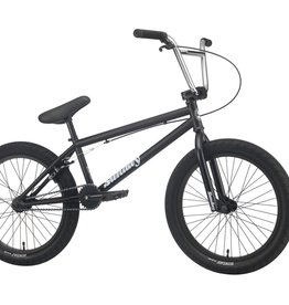 "Sunday Sunday Blueprint BMX Bike - 20.5"" TT, Matte Black"