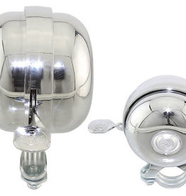 F&R Cycle Inc Bicycle Bell 366 Chrome
