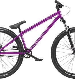 """Radio Radio Asura 26"""" Dirt Jump Bike - 22.7"""" TT, Metallic Purple"""