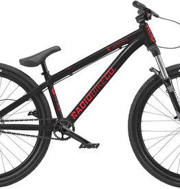 "Radio Radio Griffin Pro 26"" Dirt Jump Bike - 22.8"" TT, Glossy Black"
