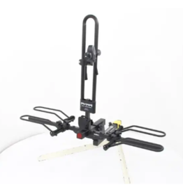 """Hollywood Racks RV Rider 2 Bike Platform Rack for E-Bikes - 2"""" Hitches - Frame Mount"""